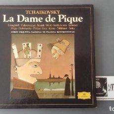 Discos de vinilo: LA DAME DE PIQUE - TCHAIKOVSKY - ROSTROPOVITCH - CAJA DEUTSCHE GRAMMOPHON. Lote 171175274