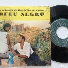 Discos de vinilo: ORFEU NEGRO - BANDE ORIGINALE DU FILM - EP FRANCIA PHILIPS 1959. Lote 171177035