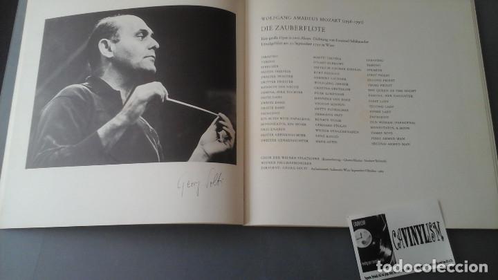 Discos de vinilo: Mozart - Solti - La flauta mágica Caja de tres Lps Decca ?– SET 479-81 - Foto 2 - 171177045