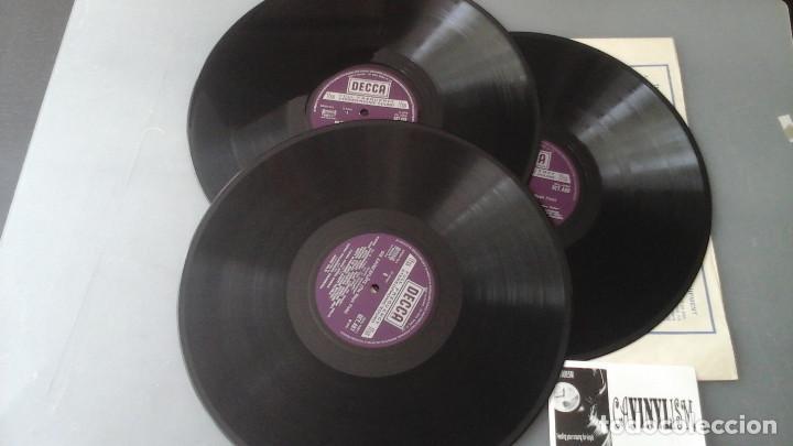 Discos de vinilo: Mozart - Solti - La flauta mágica Caja de tres Lps Decca ?– SET 479-81 - Foto 3 - 171177045