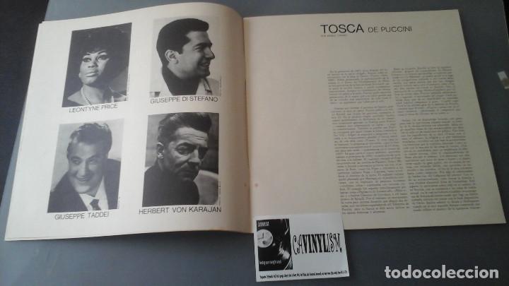 Discos de vinilo: Giacomo Puccini, Leontyne Price, Giuseppe Di Stefano, Giuseppe Taddei, Herbert Von Karajan ?– Tosca - Foto 2 - 171177120
