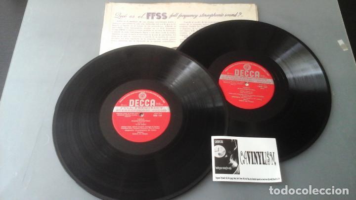 Discos de vinilo: Giacomo Puccini, Leontyne Price, Giuseppe Di Stefano, Giuseppe Taddei, Herbert Von Karajan ?– Tosca - Foto 3 - 171177120