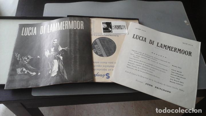 Discos de vinilo: Joan Sutherland - John Pritchard - Lucia Di Lammermoor Caja Decca ?– MET 212-13-14 - Foto 2 - 171180964