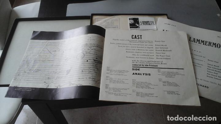 Discos de vinilo: Joan Sutherland - John Pritchard - Lucia Di Lammermoor Caja Decca ?– MET 212-13-14 - Foto 3 - 171180964