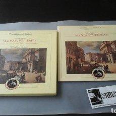 Discos de vinilo: PUCCINI - KARAJAN - CALLAS - MADAMA BUTTERFLY TEATRO ALLA SCALA - CAJA 3 LPS EDICIÓN ITALIA. Lote 171181074