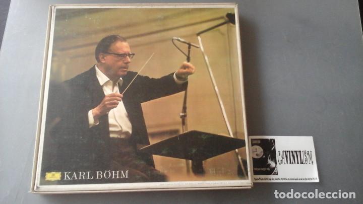 Discos de vinilo: Ludwig van Beethoven - Karl Böhm, Orquesta Filarmonica De Viena ?– 9 Sinfonias Caja Deutsche Gramoph - Foto 2 - 171182570