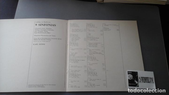 Discos de vinilo: Ludwig van Beethoven - Karl Böhm, Orquesta Filarmonica De Viena ?– 9 Sinfonias Caja Deutsche Gramoph - Foto 3 - 171182570