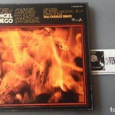 Discos de vinilo: PROKOFIEV, CHARLES BRUCK - ANGEL DE FUEGO CAJA DE 3 LPS. Lote 171182779