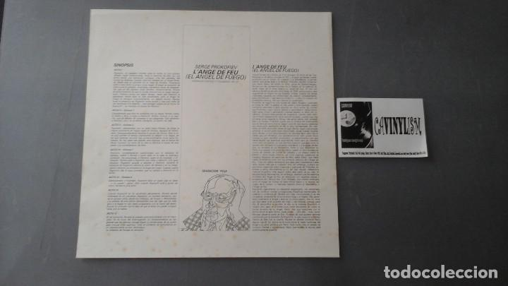 Discos de vinilo: Prokofiev, Charles Bruck - Angel de Fuego Caja de 3 Lps - Foto 2 - 171182779