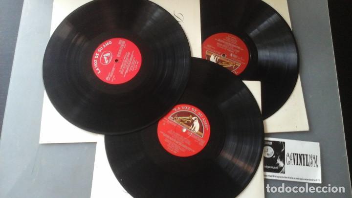 Discos de vinilo: Rossini , Maria Callas - El barbero de Sevilla Caja 3 Lps La Voz De Su Amo 10C 165-000467/69 - Foto 3 - 171184904