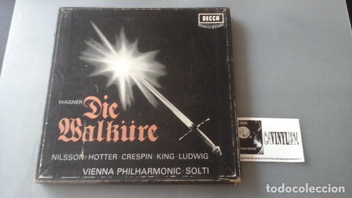 WAGNER - SOLTI - DIE WALKURE - CAJA CON 5 LPS DECCA ?– SXLE 312-16 (Música - Discos de Vinilo - EPs - Clásica, Ópera, Zarzuela y Marchas)