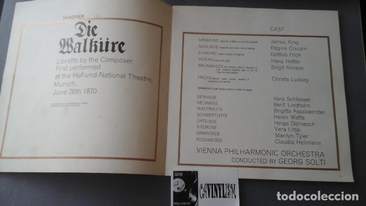 Discos de vinilo: Wagner - Solti - Die Walkure - Caja con 5 Lps Decca ?– SXLE 312-16 - Foto 2 - 171186942