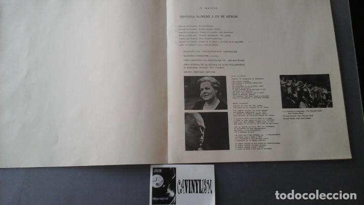 Discos de vinilo: Gustav Mahler ?– Symphony No.3 Caja Philips 2Lps - Foto 2 - 171187258