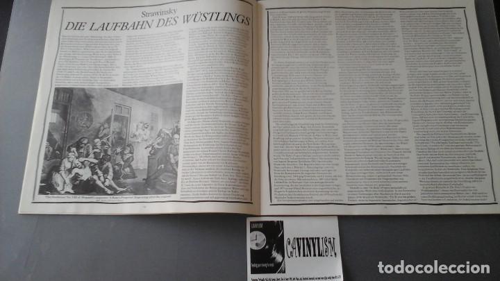 Discos de vinilo: Igor Stravinsky ?– The Rakes Progress Caja 3 Lps Decca ?– 411 644-1 - Foto 2 - 171188868