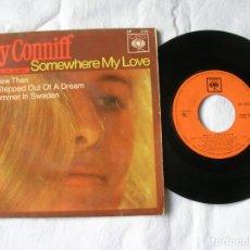 Discos de vinilo: DISCO DE RAY CONNIFF ,SOMEWHERE MY LOVE. Lote 171198898