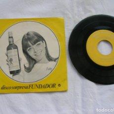 Discos de vinilo: DISCO DE FUNDADOR CANCION MEJICANA CONTIENE 4 CANCIONES. Lote 171201833