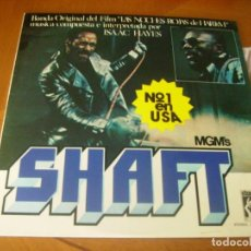 Discos de vinilo: LP DOBLE : SHAFT ED SPAIN 1972 EX PORTADA DOBLE 2 LP. Lote 171204455