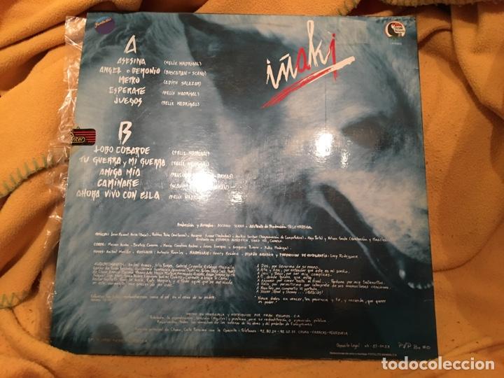 Discos de vinilo: Iñaki - Lobo Cobarde (LP) (Fantastic LP-F003) (VENEZUELA) LP - Foto 2 - 171206405