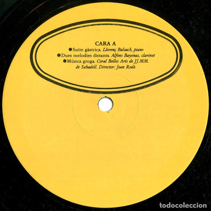 LL. BALSACH - 1ER LP - LP SPAIN 1983 - U. M. / ÈCZEMA RECORDS – UM-A2 (Música - Discos - LP Vinilo - Electrónica, Avantgarde y Experimental)