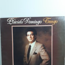 Discos de vinilo: PLÁCIDO DOMINGO TANGO DISCO L.P. Lote 171208505