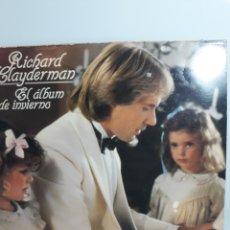 Discos de vinilo: RICHARD CLAYDERMAN (EL ÁLBUM DEL INVIERNO). Lote 171208693