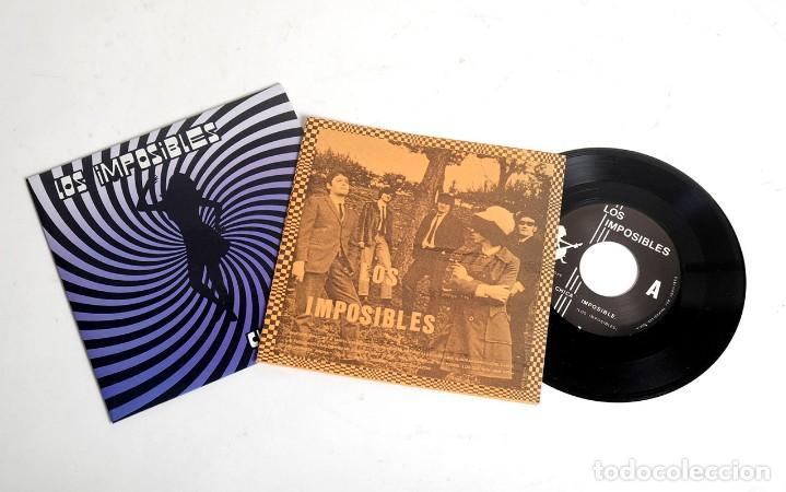 Discos de vinilo: LOS IMPOSIBLES. CHICA IMPOSIBLE / SOY UN ANIMAL / EL SEÑOR ILUMINO MI CORAZON. SUBTERFUGE 1990 - Foto 2 - 171213885