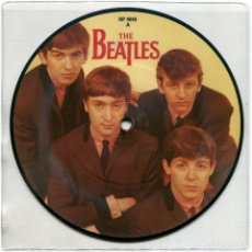 Discos de vinilo: THE BEATLES – LOVE ME DO - SINGLE, LIMITED EDITION, PICTURE DISC, REISSUE UK 1982 - PARLOPHONE. Lote 171214700