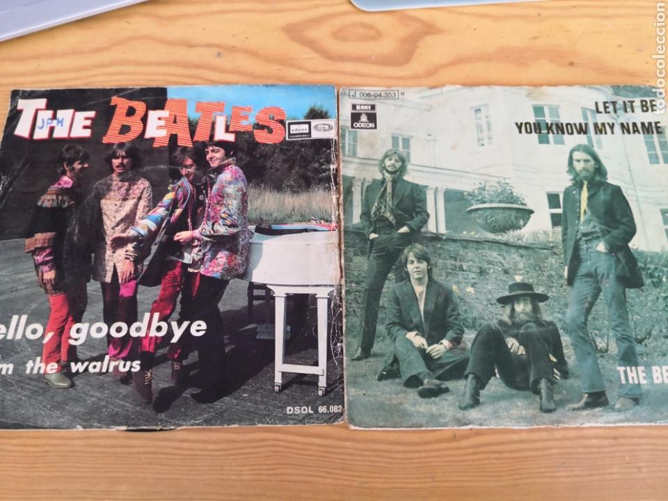 2 SINGLES THE BEATLES (Música - Discos - Singles Vinilo - Pop - Rock Extranjero de los 50 y 60)
