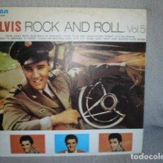 Discos de vinilo: ELVIS ROCK AND ROLL VOLUMEN 5 LP RCA. Lote 171228852