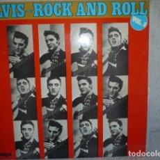 Discos de vinilo: ELVIS ROCK AND ROLL VOLUMEN 3 LP. Lote 171230980