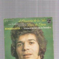 Discos de vinilo: CAMARON ROSAMARIA. Lote 171231004