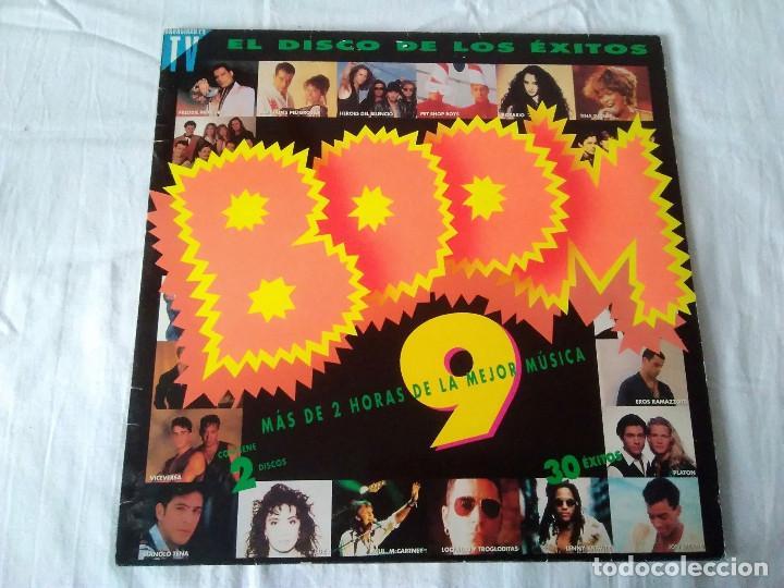 36-DOBLE LP BOOM 9, EL DISCO DE LOS EXITOS, 1992 (Música - Discos de Vinilo - EPs - Grupos Españoles de los 90 a la actualidad)