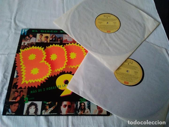 Discos de vinilo: 36-DOBLE LP BOOM 9, el disco de los exitos, 1992 - Foto 3 - 171231158