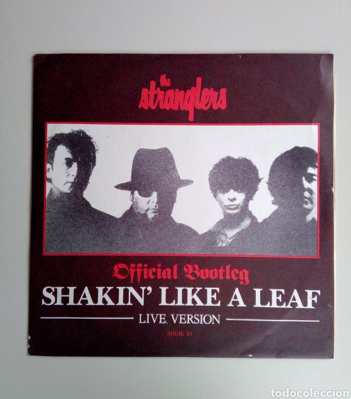 THE STRANGLERS - SHAKIN' LIKE A LEAF, EPIC, 1987. ENGLAND. (Música - Discos de Vinilo - Maxi Singles - Pop - Rock Internacional de los 70)