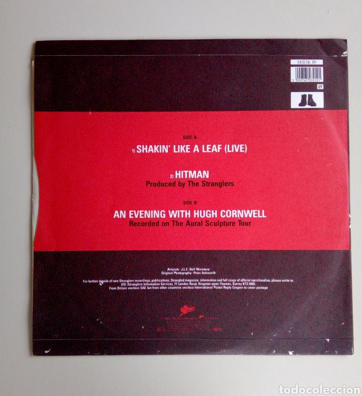 Discos de vinilo: The Stranglers - Shakin like a leaf, Epic, 1987. England. - Foto 2 - 171238964