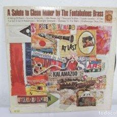 Discos de vinilo: A SALUTE TO GLENN MILLER BY THE FANTABULOUS BRASS. LP VINILO. METRO GOLWYN MAYER. VER FOTOGRAFIAS. Lote 171243959