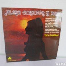 Discos de vinilo: ALMA CORAZON Y VIDA. TRIO GUARANIA. LP VINILO. DIAL DISCOS. 1977. VER FOTOGRAFIAS ADJUNTAS. Lote 171250242