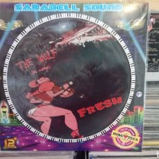 Discos de vinilo: FRESH - THE WOLF / KRISTIAN CONDE - DOLCE VITA - MAXI SINGLE PICTURE DISC. NUEVO. Lote 171251353