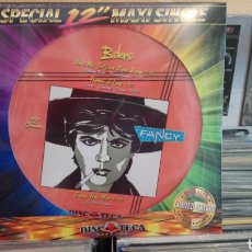Discos de vinilo: FANCY - BOLERO / FLAMES OF LOVE. MAXI SINGLE PICTURE DISC - NUEVO. Lote 171252282