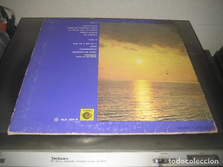 Discos de vinilo: Joan Manuel Serrat - Mediterraneo LP 1971 carpeta doble - Foto 2 - 171253598