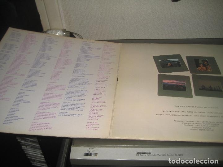 Discos de vinilo: Joan Manuel Serrat - Mediterraneo LP 1971 carpeta doble - Foto 3 - 171253598