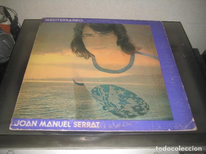 JOAN MANUEL SERRAT - MEDITERRANEO LP 1971 CARPETA DOBLE (Música - Discos de Vinilo - Maxi Singles - Cantautores Españoles)