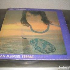 Discos de vinilo: JOAN MANUEL SERRAT - MEDITERRANEO LP 1971 CARPETA DOBLE. Lote 171253598