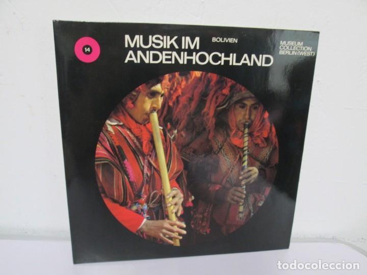 MUSIK IM ANDENHOCHLAND. BOLIVIEN. 2 LP VINILO. MUSEUM COLLECTION BERLIN. VER FOTOGRAFIAS ADJUNTAS (Música - Discos de Vinilo - EPs - Étnicas y Músicas del Mundo)