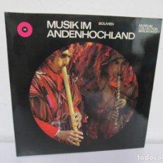 Discos de vinilo: MUSIK IM ANDENHOCHLAND. BOLIVIEN. 2 LP VINILO. MUSEUM COLLECTION BERLIN. VER FOTOGRAFIAS ADJUNTAS. Lote 171256734
