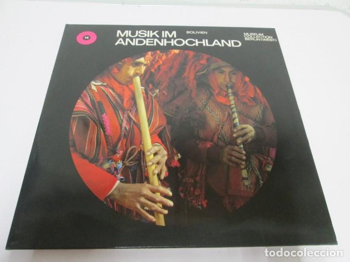 Discos de vinilo: MUSIK IM ANDENHOCHLAND. BOLIVIEN. 2 LP VINILO. MUSEUM COLLECTION BERLIN. VER FOTOGRAFIAS ADJUNTAS - Foto 2 - 171256734