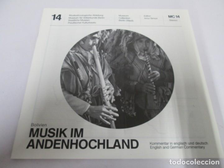 Discos de vinilo: MUSIK IM ANDENHOCHLAND. BOLIVIEN. 2 LP VINILO. MUSEUM COLLECTION BERLIN. VER FOTOGRAFIAS ADJUNTAS - Foto 4 - 171256734