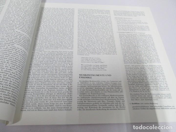 Discos de vinilo: MUSIK IM ANDENHOCHLAND. BOLIVIEN. 2 LP VINILO. MUSEUM COLLECTION BERLIN. VER FOTOGRAFIAS ADJUNTAS - Foto 6 - 171256734