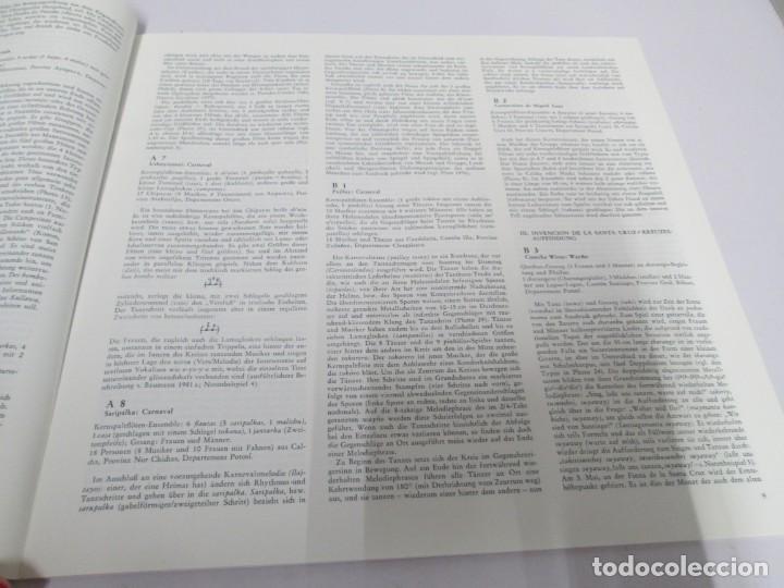 Discos de vinilo: MUSIK IM ANDENHOCHLAND. BOLIVIEN. 2 LP VINILO. MUSEUM COLLECTION BERLIN. VER FOTOGRAFIAS ADJUNTAS - Foto 7 - 171256734
