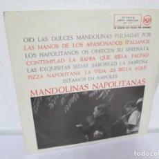 Discos de vinilo: MANDOLINAS NAPOLITANAS. LP VINILO. RCA RECORDS. 1962. VER FOTOGRAFIAS ADJUNTAS. Lote 171258303